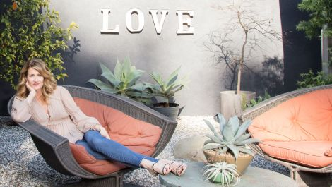 Inside Laura Dern's Rustic Los Angeles Home