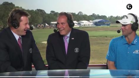Meet The PGA Tour Rookie Who Made Jim Nantz Cringe