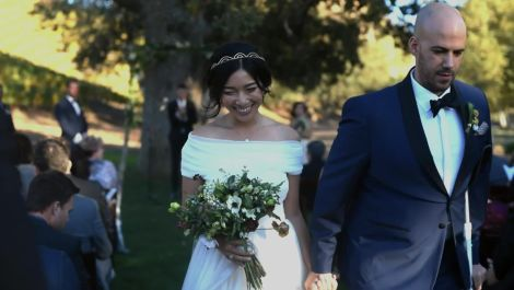 Fashion Blogger Honey & Silk's Provencal Wedding in Southern California