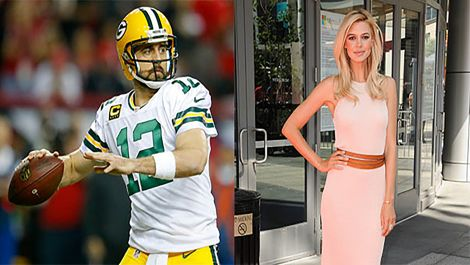 Aaron Rodgers and Kelly Rohrbach go on a golf date