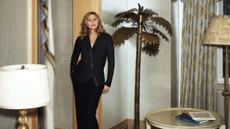Tour Kim Cattrall's Opulent New York Home in 90 Seconds