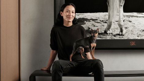 Alexander Wang Went 50 Shades of Black On His Manhattan Apartment