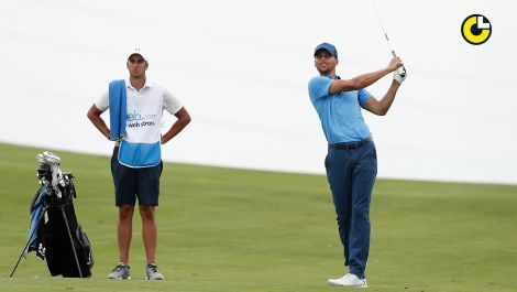 Stephen Curry's impressive pro golf debut