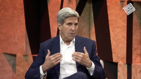 John Kerry Talks Iran, North Korea, and Extremism Rising Around the Globe.