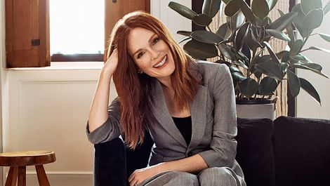 Inside Julianne Moore's New York City Townhouse