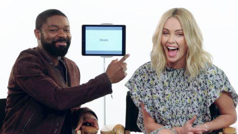 Charlize Theron and David Oyelowo Teach Afrikaans and Yoruba Slang