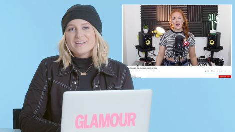 Meghan Trainor Watches Fan Covers On YouTube