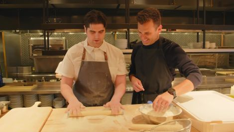 Andrew Knowlton Pops Into Philadelphia's Fishtown to Make Man'oushe at Suraya