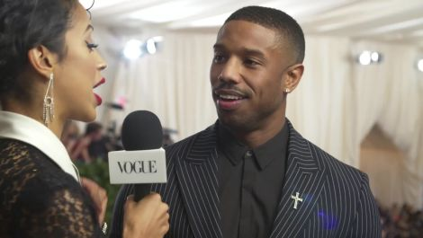 Michael B. Jordan on His High Expectations for the Met Gala