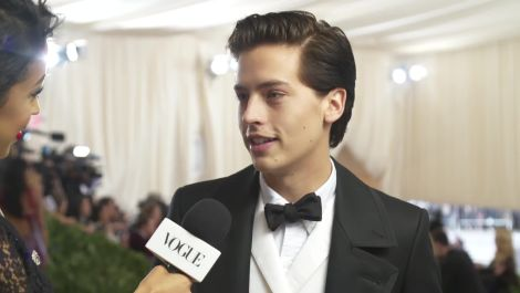 Cole Sprouse on Interning at the Met and His Artistic Aspirations