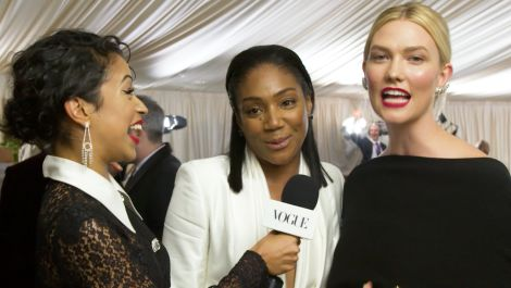 Tiffany Haddish and Karlie Kloss on Trying to Dance With Michael B. Jordan
