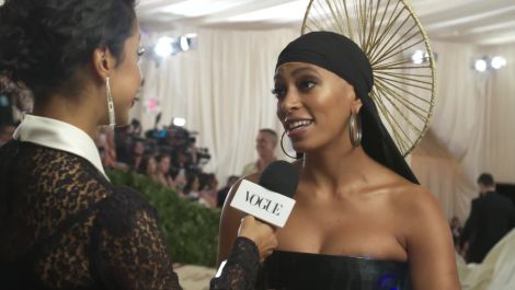 Solange Knowles on Her Braided Halo and Performing With Beyoncé at Coachella