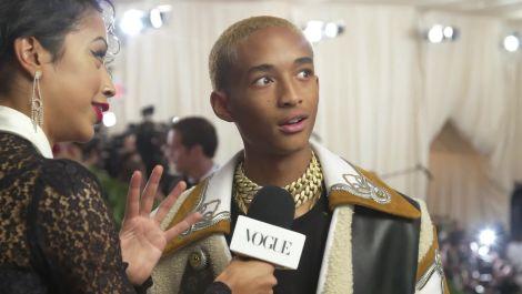 Jaden Smith on His Cozy Look for the Met Gala