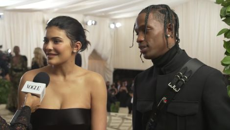 Kylie Jenner and Travis Scott on Their Parents' Night Out
