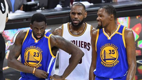 LeBron vs. Golden State in the NBA Finals. Again.