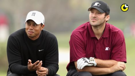 Tony Romo is the new King of Celebrity Golf