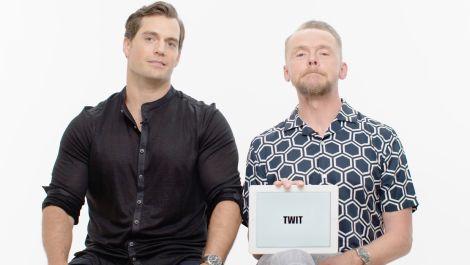 Henry Cavill and Simon Pegg Teach You English Slang