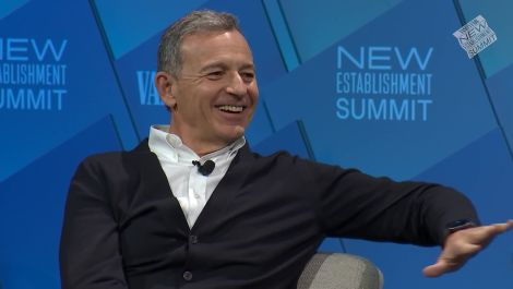 "Bob Iger Discusses Sneaking in to Watch ""Black Panther"" and Moving Beyond Partisan Politics"