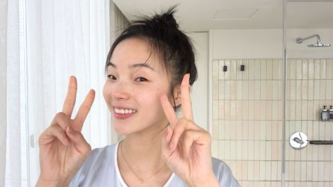 Watch Model Xiao Wen Ju's 9-Step Nighttime Skincare Routine