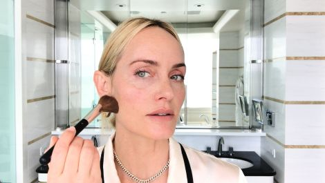 Amber Valletta Reveals the Secret to Her Natural Supermodel Glow