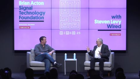 Signal Technology Foundation's Brian Acton in Conversation with Steven Levy