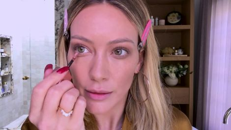 Hilary Duff on Melasma, Glitter Eyeshadow, and Her Busy Mom Makeup Routine