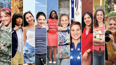 Top Ten College Women 2012