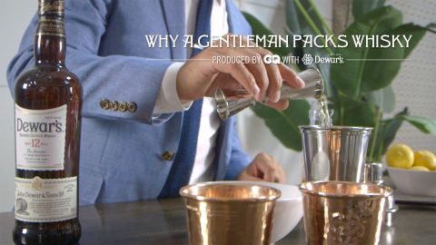 Why a Gentleman Packs Whisky