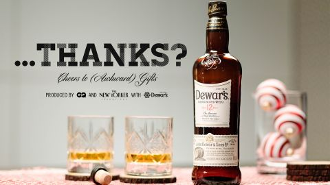 ...Thanks? Cheers to (Awkward) Gifts.