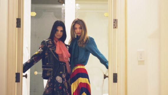 Kendall Jenner Does NYFW With Gigi Hadid, Kim Kardashian West, Marc Jacobs, and McDonald's