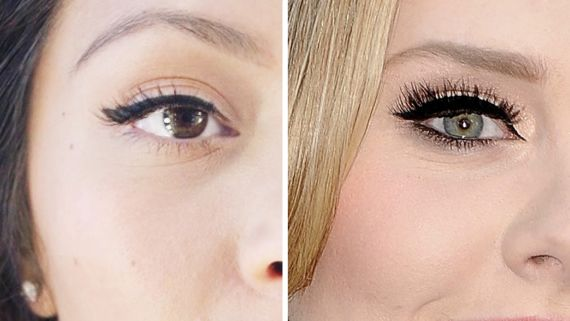 How to Recreate Adele's Cat Eye