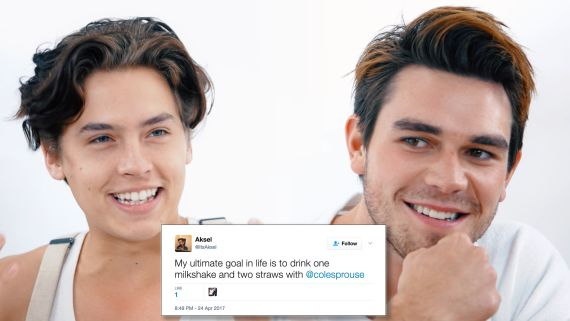 Riverdale's Cole Sprouse & KJ Apa Compete in a Compliment Battle