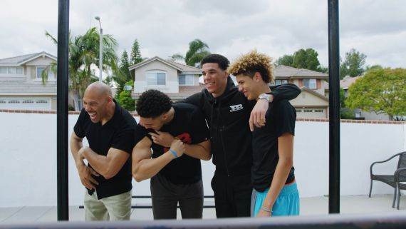 "Watch LaVar Ball Explain How He Made ""The 3 Most Dominating Basketball Players Ever to Be Raised"" (His Sons)"