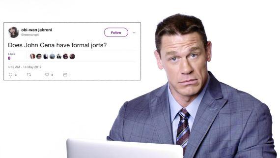 John Cena Goes Undercover on Twitter, YouTube, and Reddit