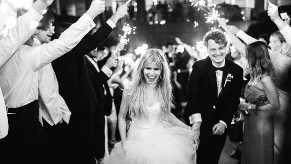 Scream's Carlson Young and Foster the People's Isom Innis's Beautiful Wedding in Texas