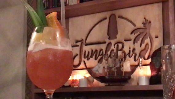 A Cocktail for a Hot Day at Kuala Lumpur's JungleBird Bar
