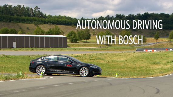 Autonomous driving with Bosch | Ars Technica