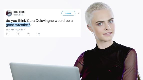 Cara Delevingne Goes Undercover on Twitter, YouTube, and Reddit