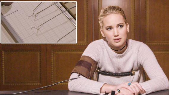 Jennifer Lawrence Takes a Lie Detector Test