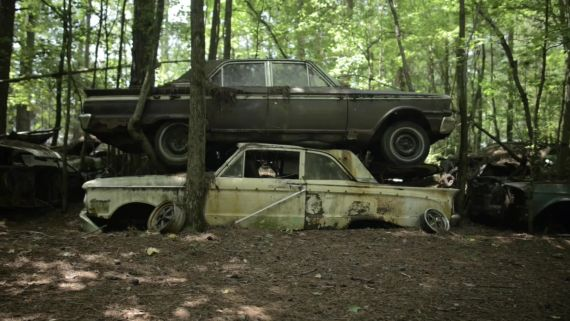 The Largest Vintage Car Junkyard in the World
