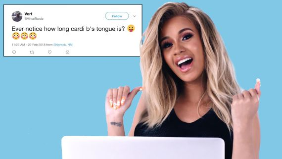 Cardi B Goes Undercover on Reddit, Twitter, and YouTube