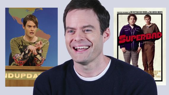 Bill Hader Remembers the Time He Met Tom Cruise