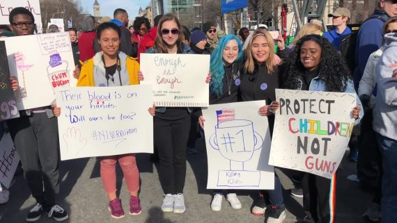 Hundreds of Thousands Rally for Change at the Washington D.C. March for Our Lives