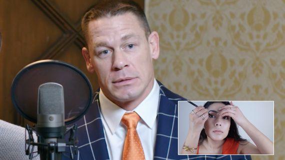 John Cena and Ike Barinholtz Narrate a Makeup Tutorial