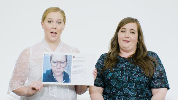 Amy Schumer and Aidy Bryant Explain Their Instagram Photos