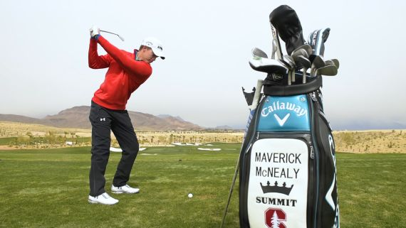 Maverick McNealy's pre-round routine in 60 seconds