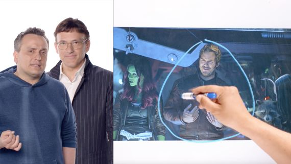 Infinity War's Directors Break Down the Thor and Guardians of the Galaxy Scene