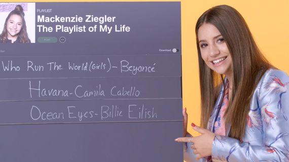 Mackenzie Ziegler Creates the Playlist to Her Life