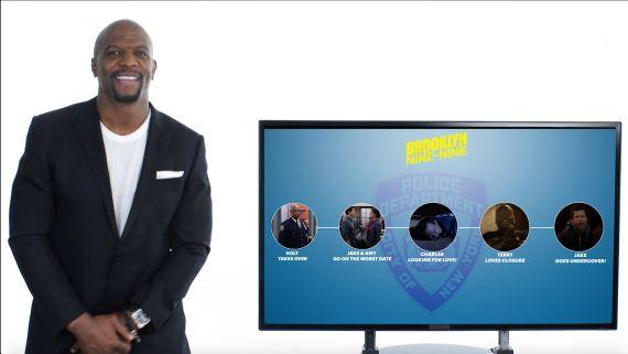 Terry Crews Recaps Brooklyn Nine-Nine's 5 Seasons in 7 Minutes