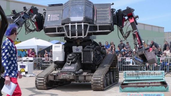 MegaBots: Born to Smash Anything in Their Path